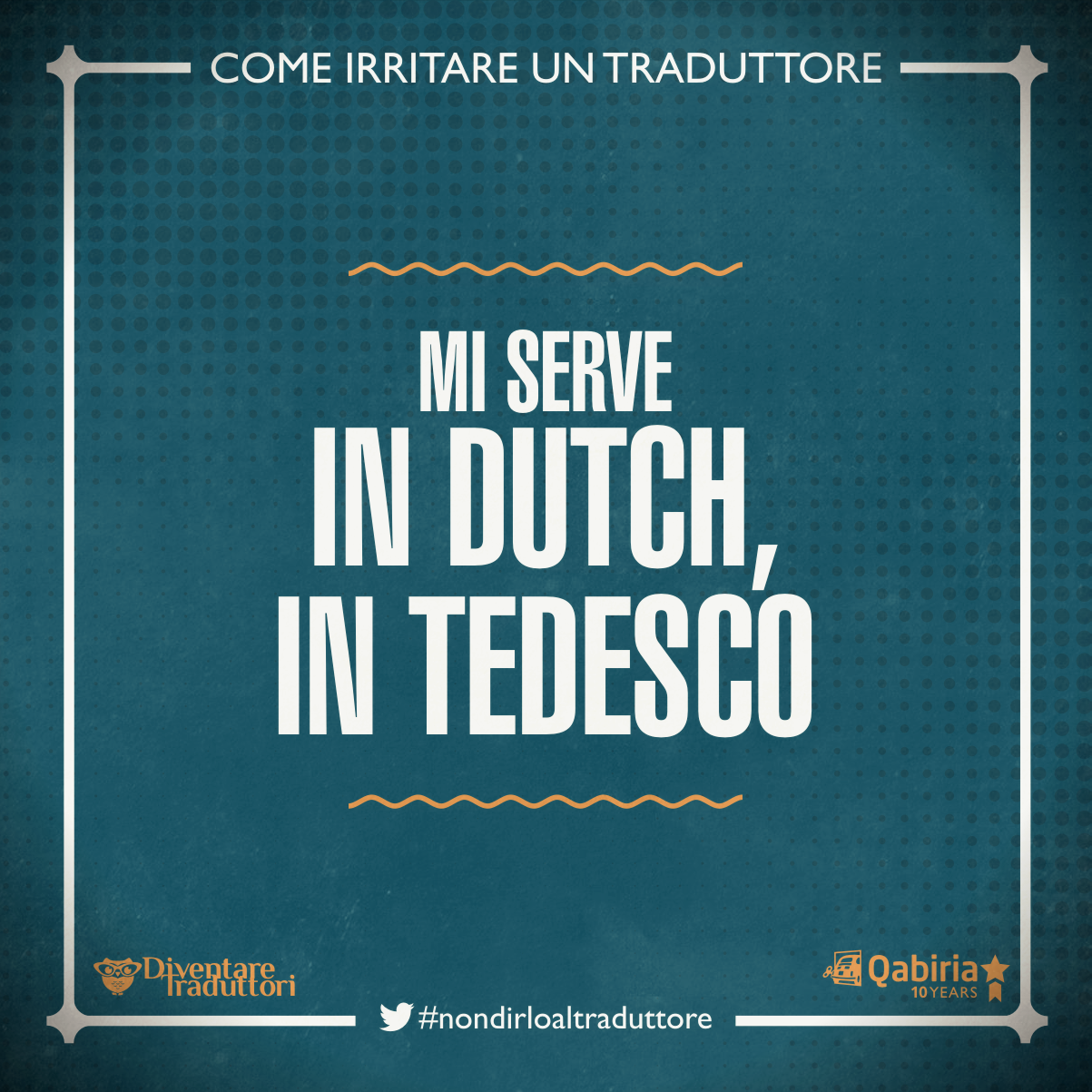 Dutch, tedesco